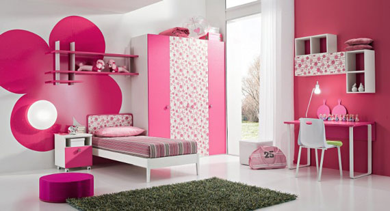 bedroom decorating ideas for a girl