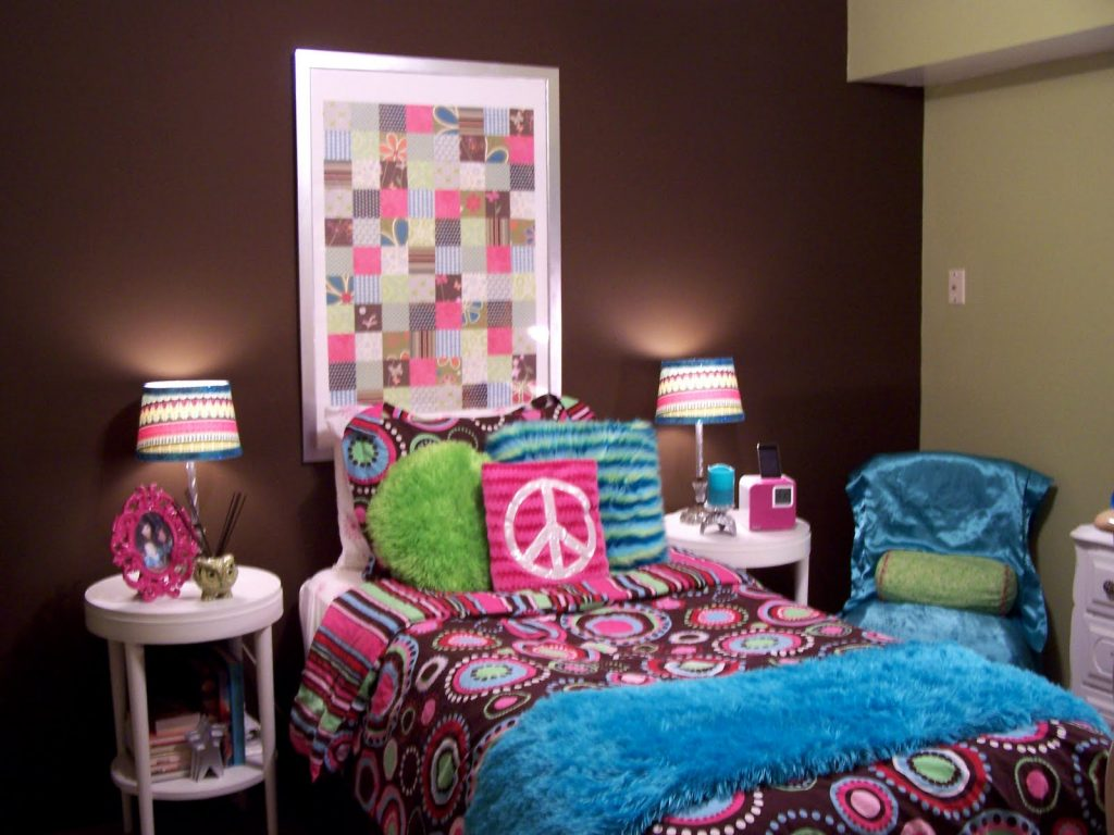 girl bedroom ideas blue