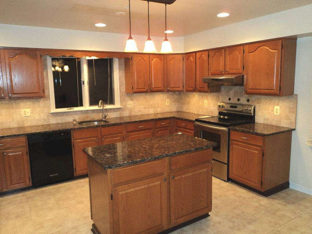 kitchen granite countertops images