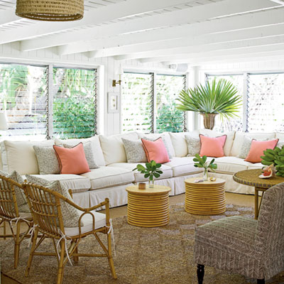 tropical home decor ideas