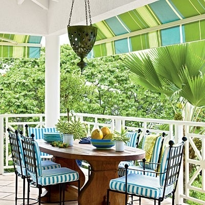 tropical home decor trend