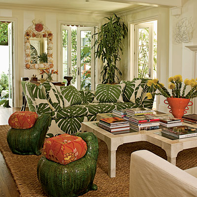 Classic tropical island home decor home improvement for Tropical themed kitchen
