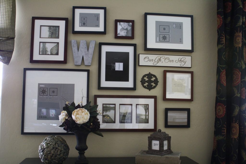 picture wall ideas frames