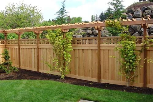 Fence designs ideas along with tips